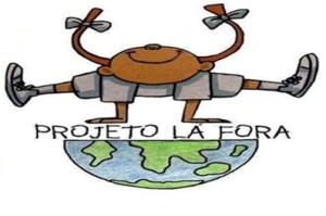 Emblema Projeto Lá Fora
