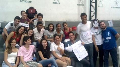 CUJINCANA 2013 (Aqui os alunos tem que usar seus conhecimentos e ajudar o seu grupo a vencer a gincana temática)