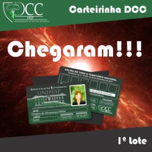 Carterinha_chegaram